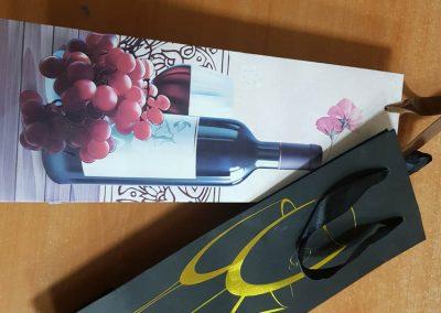 Плик хартиен за вино луксозен