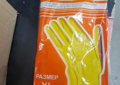 Домакински ръкавици-различни размери