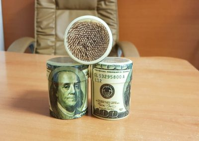 Клечки за зъби долар – 300 бр.