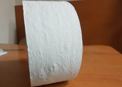 Тоалетна хартия диксан бял 380 гр,3 пласта