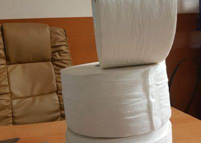 Тоалетна хартия диксан бял 400 гр,3 пласта
