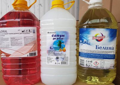 Продукти за почистване 5 л нискобюджетни